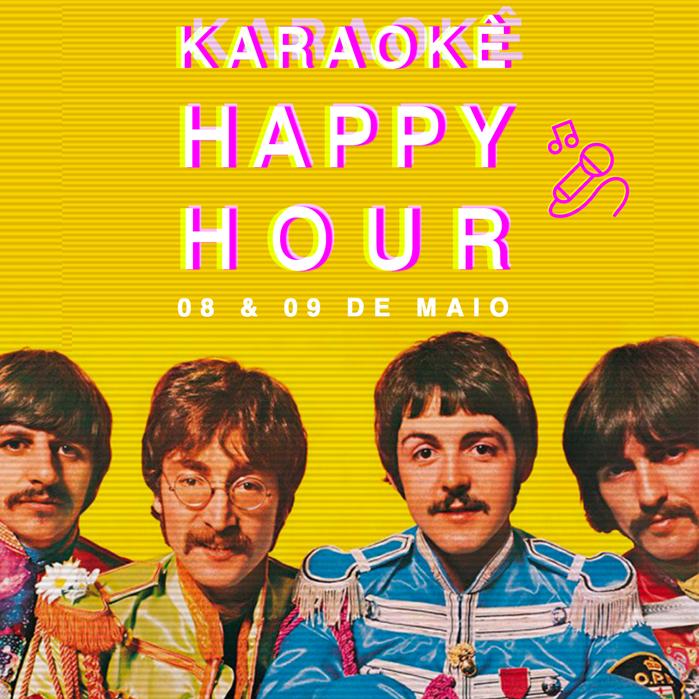 Karaokê Happy-Hour do Tokyo 東 京 The Beatles [Vip até 21h]