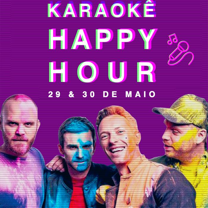 Karaokê Happy-Hour do Tokyo 東 京 Coldplay [Vip até 21h]