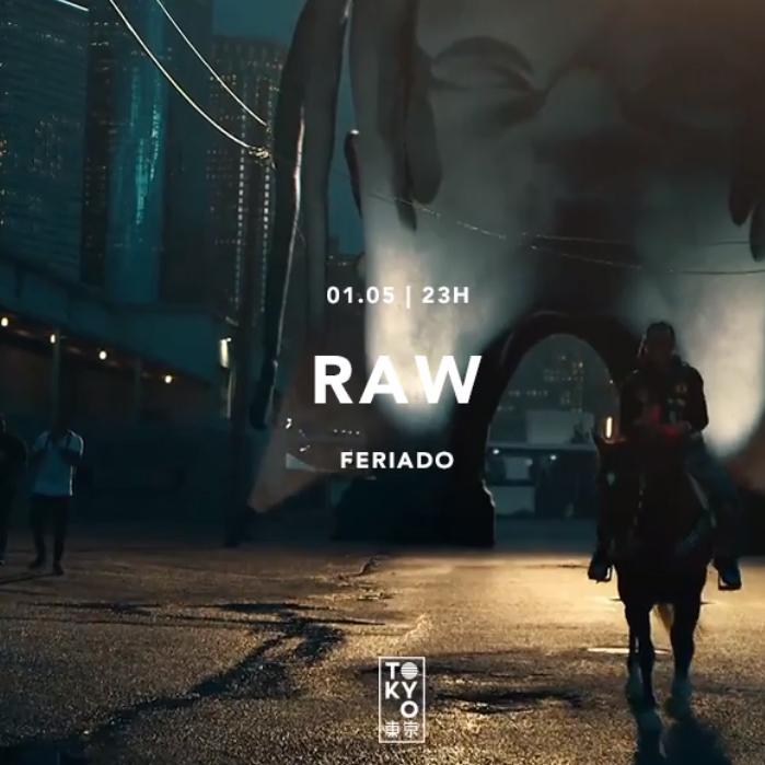 Raw ϟ Trap & Hip-Hop na Cobertura do Tokyo 東 京 [Feriado | 01.05]