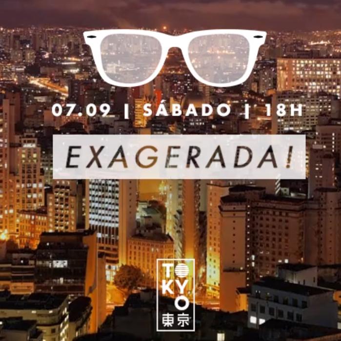 Exagerada! ♡ 12 Horas de Música Brasileira na Cobertura do Tokyo