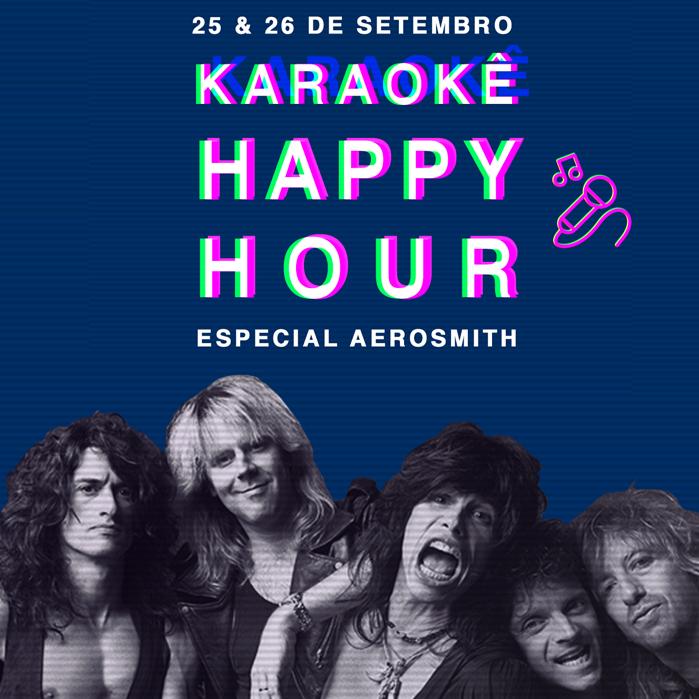 Karaokê Happy-Hour do Tokyo 東 京 Aerosmith [Vip até 21h]