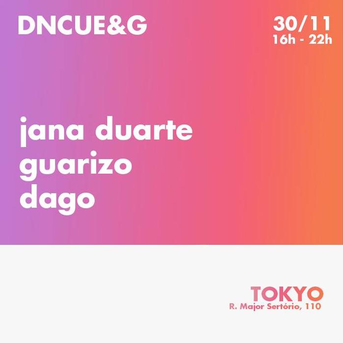 Dedo no Cue & Gritaria | Hits & Sunset no Tokyo 東 京