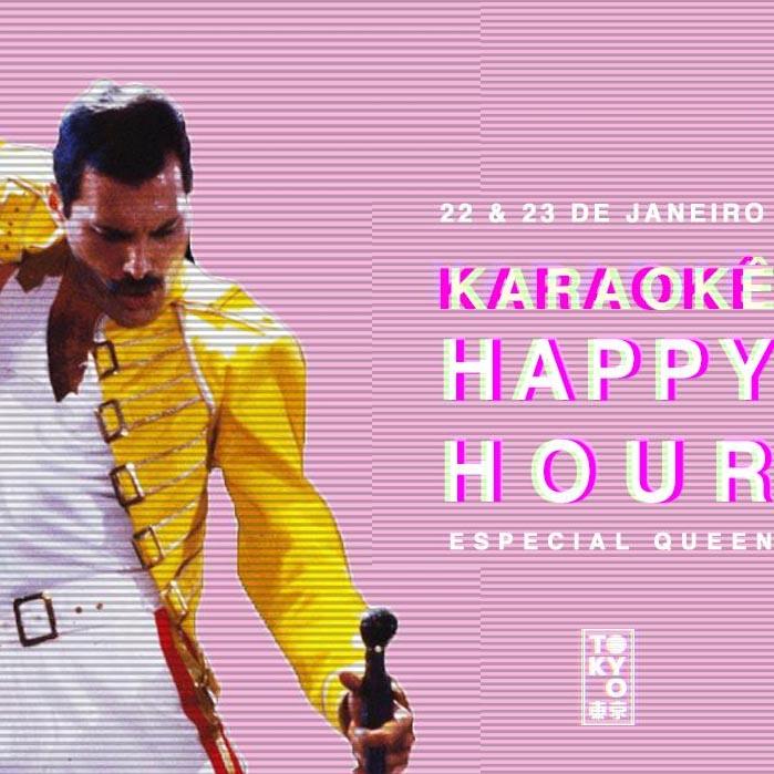 Karaokê Happy-Hour do Tokyo 東 京 Queen [Vip até 21h]