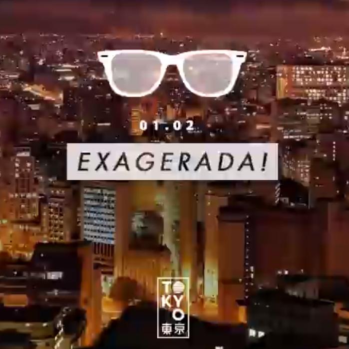 Exagerada! ♡ 14 Horas de Música Brasileira na Cobertura do Tokyo