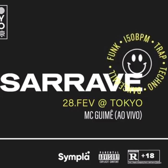 SaRRave no Tokyo 東 京 Uma Sarrada numa Cobertura com MC Guimê